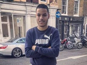 Omid Saidy, 20, from Fulham, was pronounced dead in Parsons Green Lane
