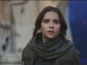 Felicity Jones in in Star Wars: Rogue One