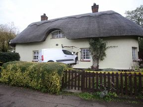 The van in Maulden, Bedfordshire
