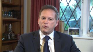 Grant Shapps says it is time for Theresa May to step down