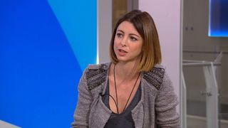 Actress Julie Dray speaks to Sky News
