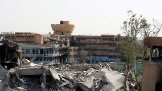 The National Hospital, last stronghold of the Islamic state militants