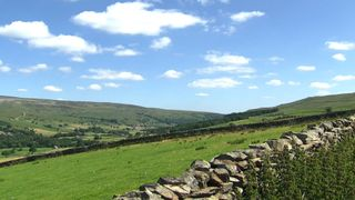 The rolling hills of Yorkshire