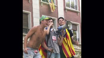 Catalonia independence supporters