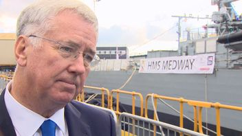 Michael Fallon reflects on the defeat of IS in Raqqa