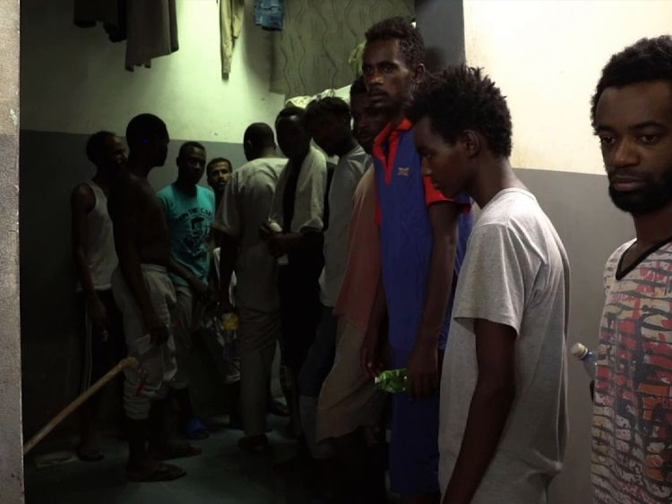 Camp authorities deny mistreatment and say the main issue is maintaining hygienic conditions