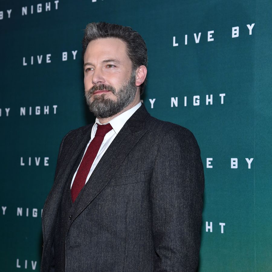 PARIS, FRANCE - JANUARY 16: Ben Affleck attends 'Live by Night' Premiere at Cinema UGC Normandie on January 16, 2017 in Paris, France. (Photo by Pascal Le Segretain/Getty Images)