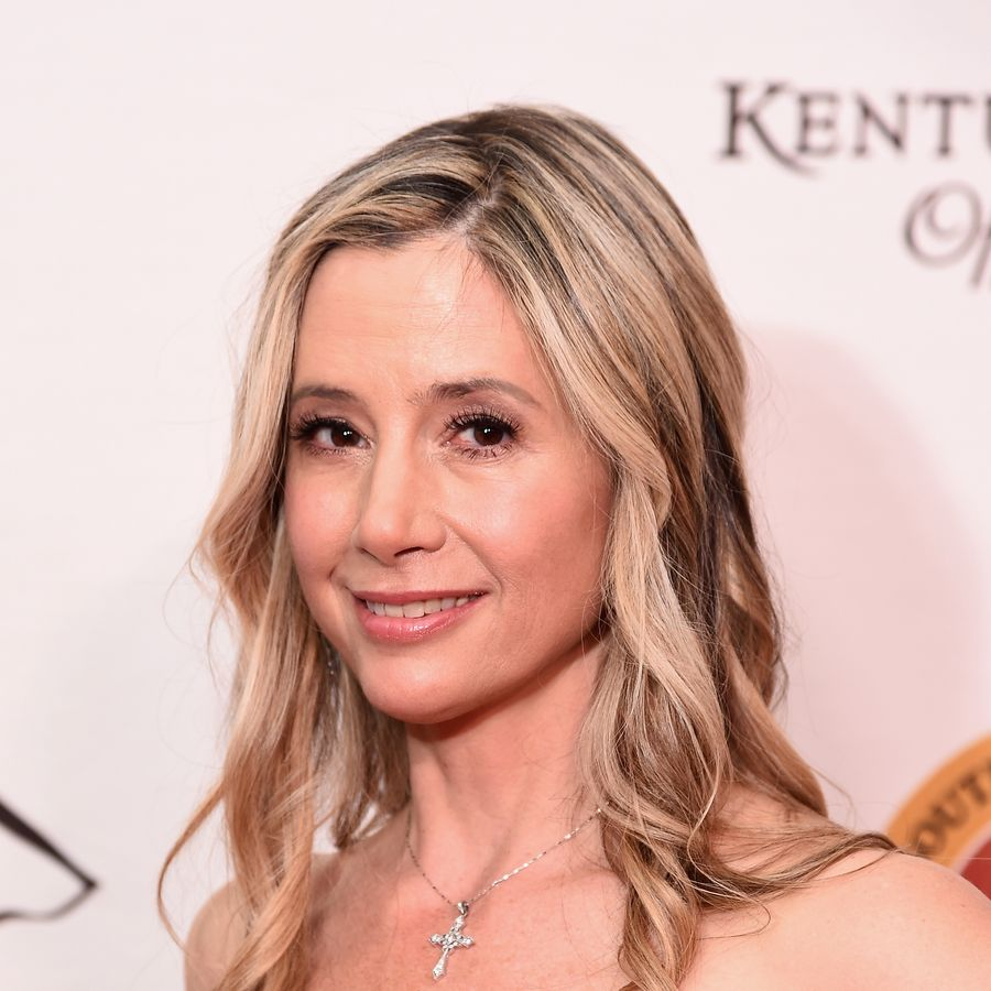 LOUISVILLE, KY - MAY 05: Mira Sorvino attends the Unbridled Eve Gala for the 143rd Kentucky Derby at the Galt House Hotel & Suites on May 5, 2017 in Louisville, Kentucky. (Photo by Michael Loccisano/Getty Images for Unbridled Eve)