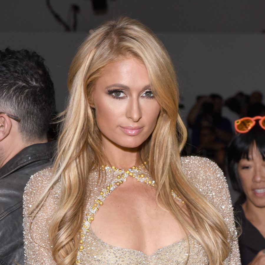 NEW YORK, NY - SEPTEMBER 11: Paris Hilton backstage for Lanyu fashion show during New York Fashion Week: The Shows at Gallery 2, Skylight Clarkson Sq on September 11, 2017 in New York City. (Photo by Presley Ann/Getty Images For Lanyu )