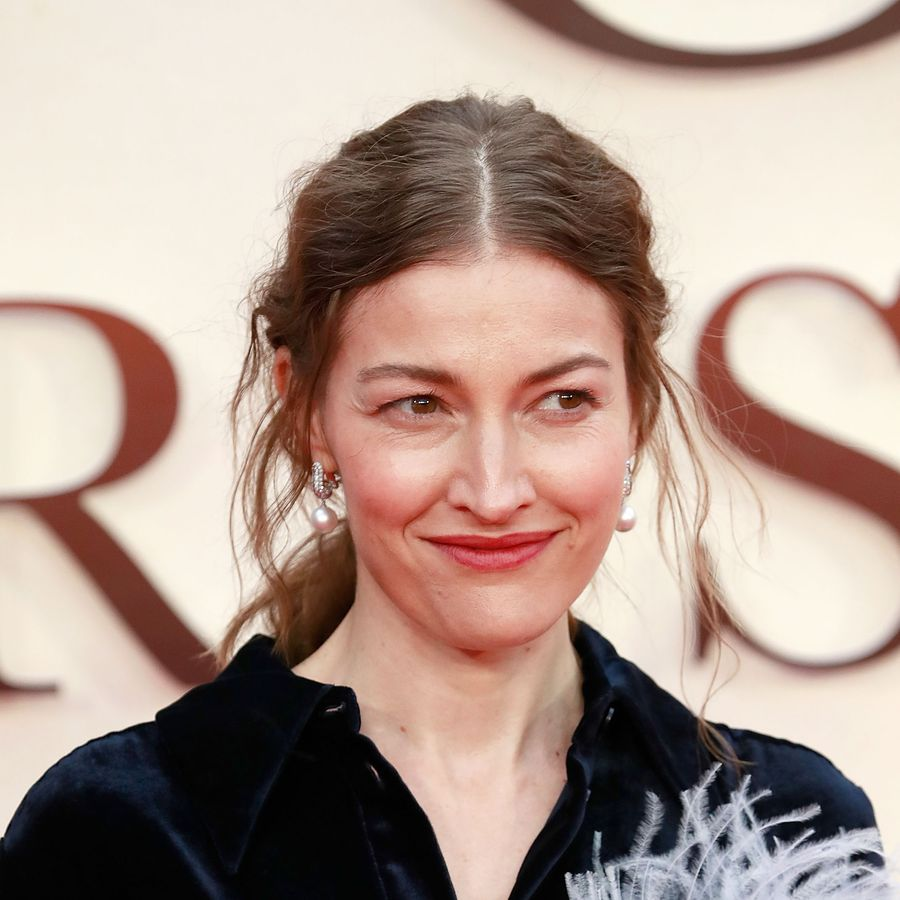 LONDON, ENGLAND - SEPTEMBER 20: Kelly Macdonald attends the 'Goodbye Christopher Robin' World Premiere held at Odeon Leicester Square on September 20, 2017 in London, England. (Photo by John Phillips/John Phillips/Getty Images)