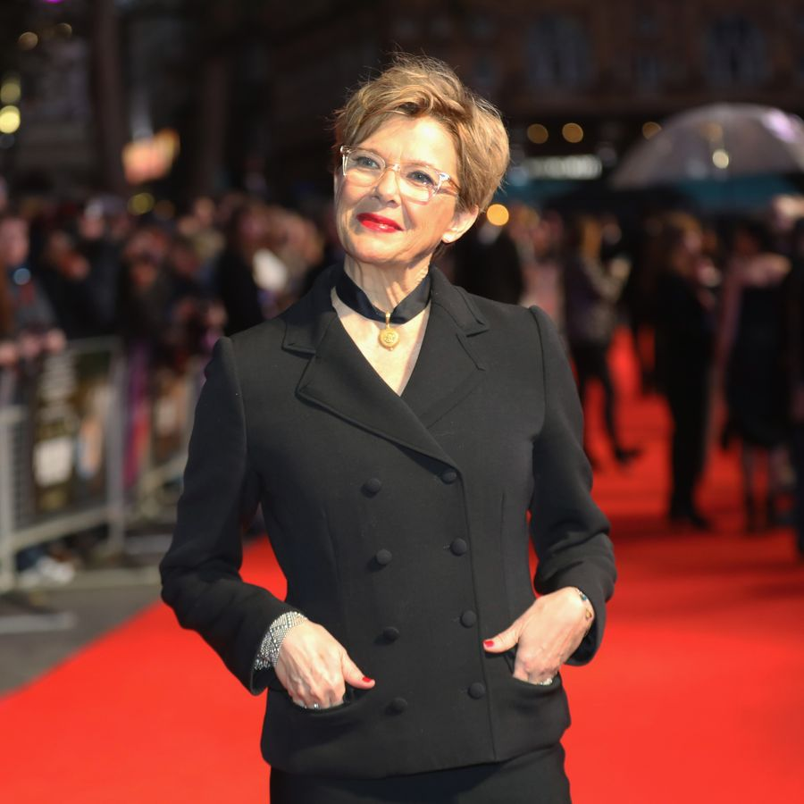 LONDON, ENGLAND - OCTOBER 11: Annette Bening attends the Mayfair Gala & European Premiere of 'Film Stars Don't Die in Liverpool' during the 61st BFI London Film Festival on October 11, 2017 in London, England. (Photo by Tim P. Whitby/ Getty Images for BFI)