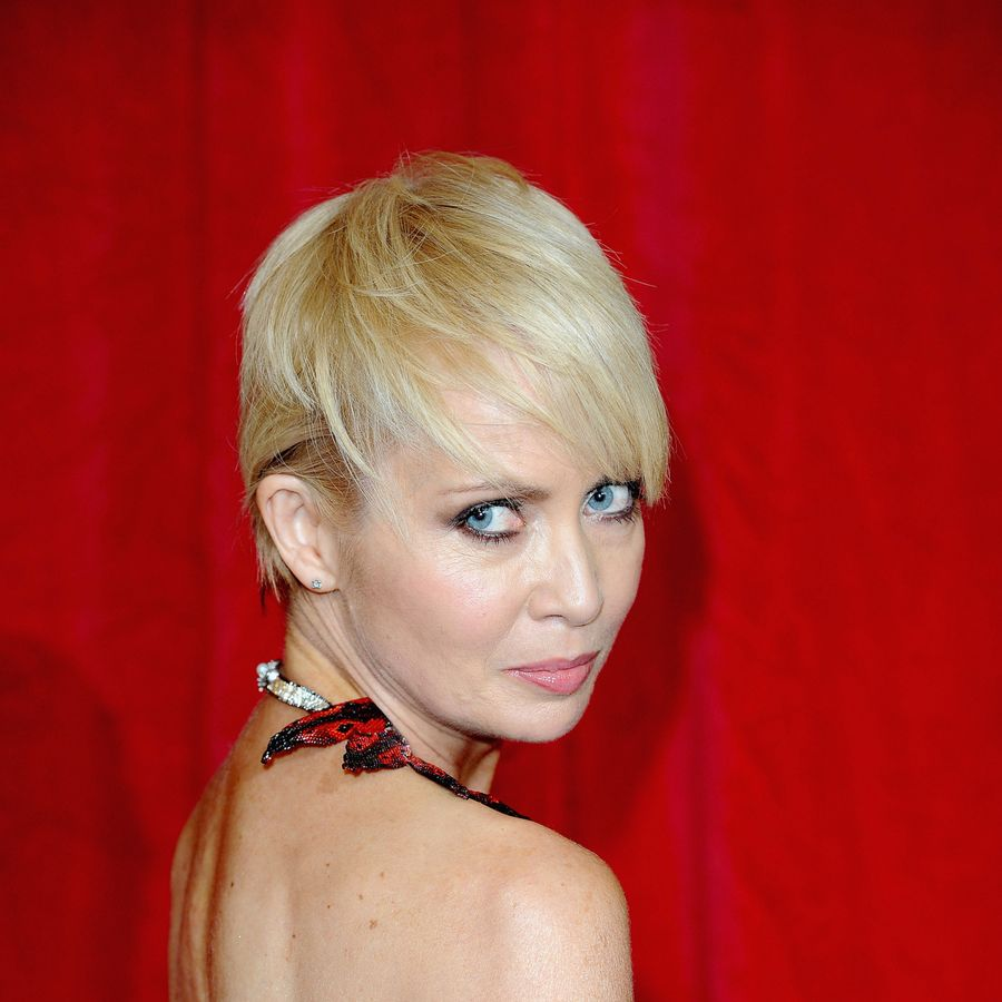 Lysette Anthony attends the British Soap Awards 2016 at Hackney Empire on May 28, 2016 in London, England