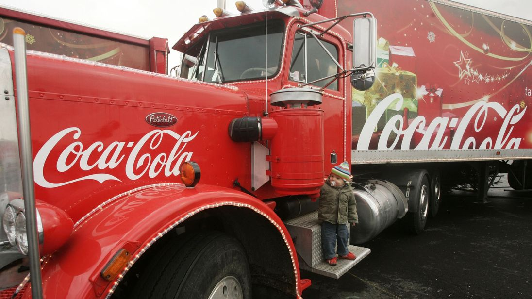 Public Health England hit out at the Coca-Cola truck tour