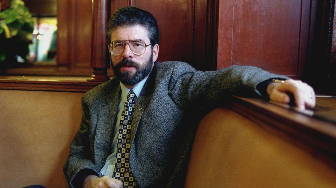 Gerry Adams was always denied IRA membership