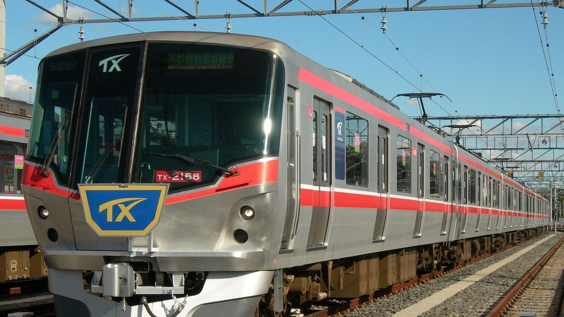 The Tsukuba Express carries 230,000 passengers a day