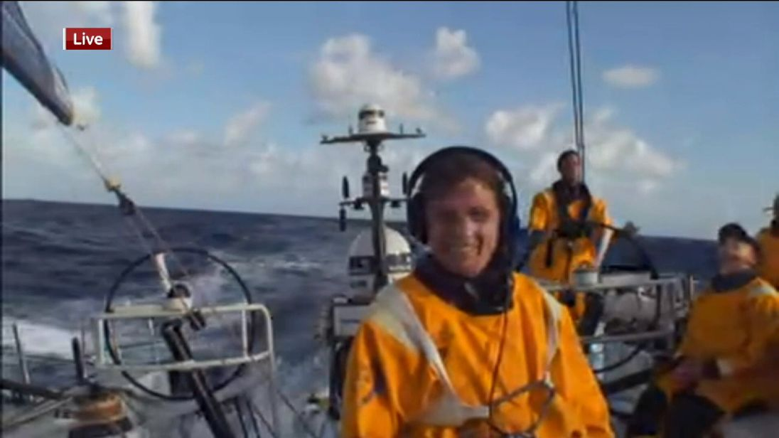 Liz Wardley talks live from the mid-Atlantic on the Volvo Ocean Race
