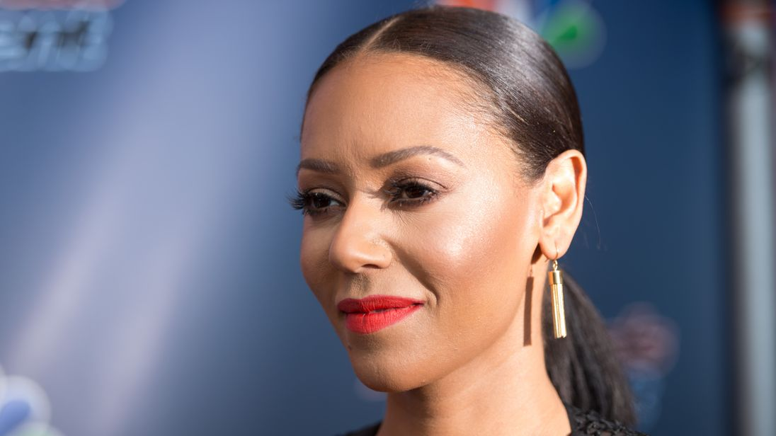 'America's Got Talent' Season 10 Red Carpet Event NEWARK, NJ - MARCH 02: Mel B arrives at the 'America's Got Talent' Season 10 Red Carpet Event at New Jersey Performing Arts Center on March 2, 2015 in Newark, New Jersey. (Photo by Dave Kotinsky/Getty Images)