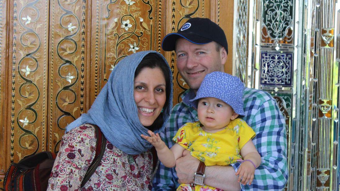 Nazanin Zaghari-Ratcliffe and her family