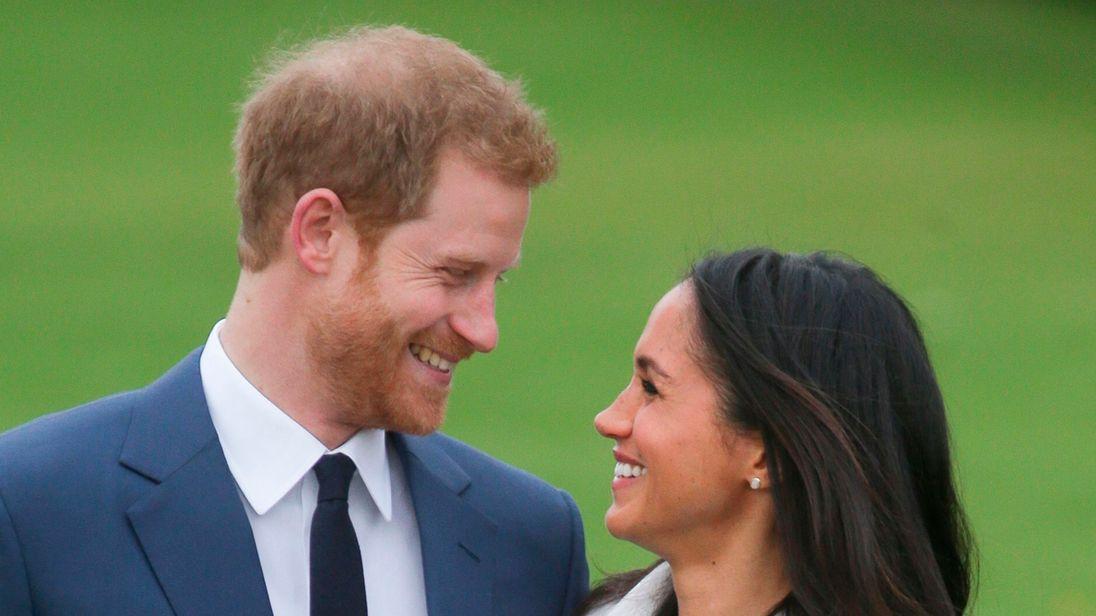 Prince Harry and his fiancée Meghan Markle