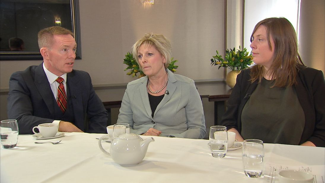 MPs Chris Byant, Anna Soubry and Jess Phillips discuss sexual harassment at Westminster