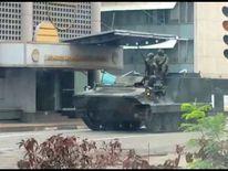 Tank in Harare