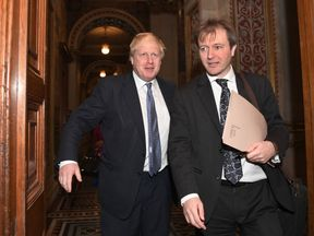Foreign Secretary Boris Johnson meets with Richard Ratcliffe