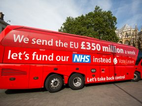 The 'Vote LEAVE' battle bus