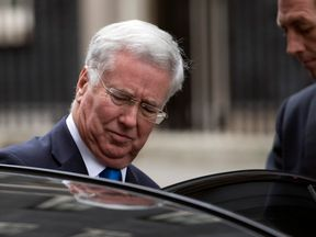 Former defence secretary Michael Fallon