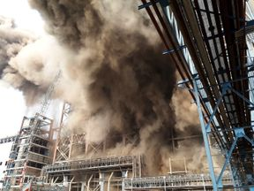 An explosion at a power plant in northern India has left at least 26 people dead