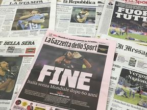 Papers on 14 November after out of world cup