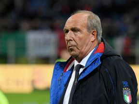 Gian Piero Ventura before Italy's World Cup play-off against Sweden