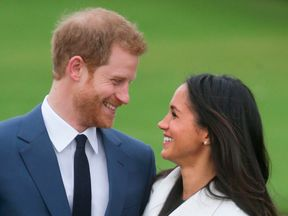 Prince Harry and his fiancée Meghan Markle