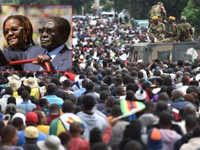 Robert Mugabe and his wife Grace are 'ready to die for what is correct'