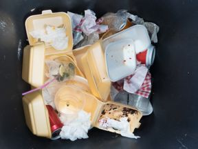 A plastic tax could be used to cut down on plastic waste from takeaway boxes