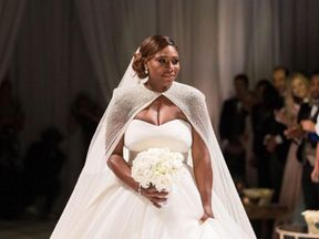 Serena Williams wore three dresses across the day