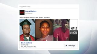 A Facebook community similar to Black Lives Matter. Pic: US Congress
