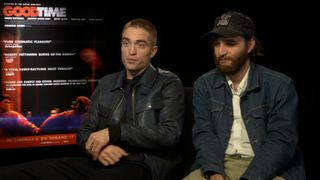 Pattinson and Safdie