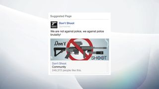 A Russian-backed page against police brutality