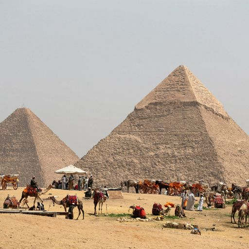 Mysterious void discovered in Great Pyramid of Giza
