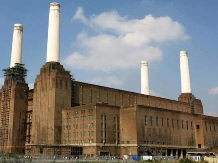 Apple's new UK headquarters are based at Battersea Power Station