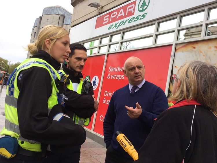 Police are offering businesses advice and support regarding the sale of alcohol. Pic: South Wales Police Cardiff