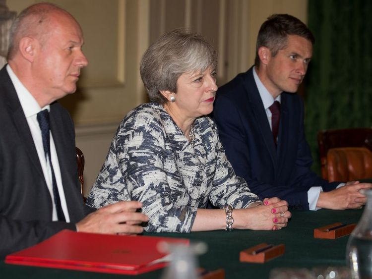 Damian Green was Theresa May's right-hand man during post-election talks with the DUP