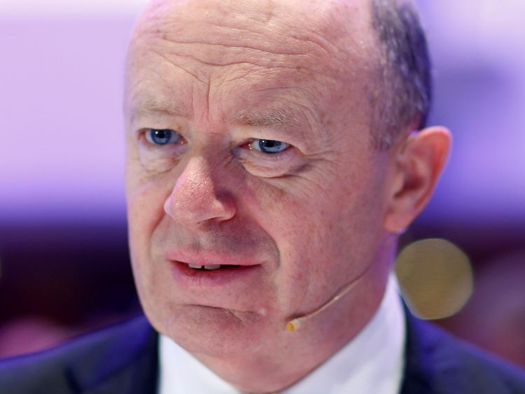 Deutsche Bank CEO John Cryan said there needed to be a 'handful of institutions' that can compete on a global scale