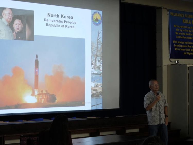 Hawaiians are preparing for the possibility of a strike from North Korea