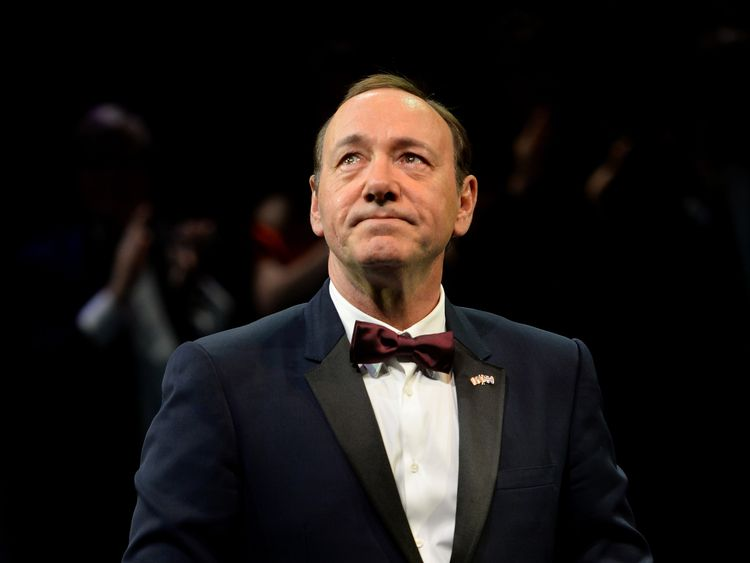Kevin Spacey was artistic director at the Old Vic between 2004 and 2015