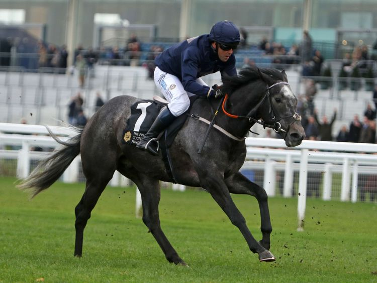 Michael Owen rides Calder Prince during the Prince's Countryside Fund race at Ascot Racourse