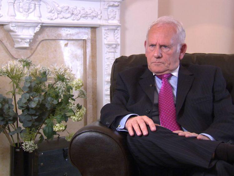 Sexual psychotherapist Raymond Francis