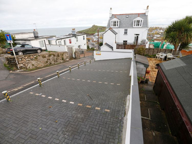 Three parking spaces in Barnoon Terrace, near the Tate St Ives gallery, were auctioned for £160,000 in 2012