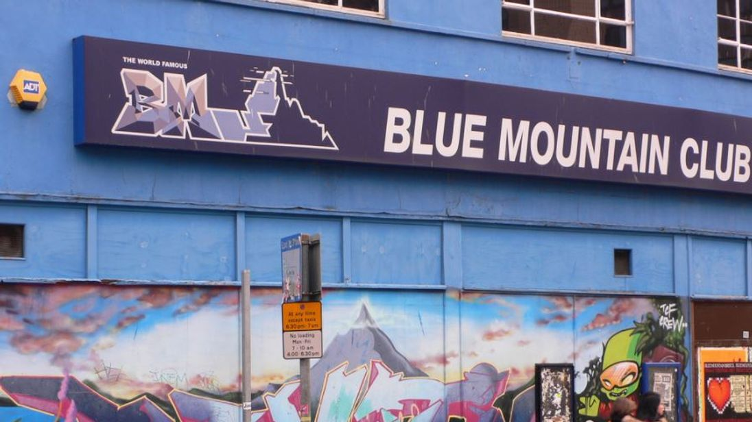 The man was assaulted at the Blue Mountain Club in Stokes Croft, Bristol Pic: heatheronhertravels