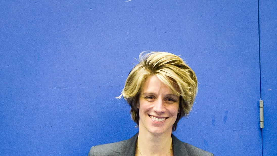 Conservative Party Candidate for Bristol North West Charlotte Leslie wins the seat in the General Election 2015. PRESS ASSOCIATION Photo. Picture date: Friday May, 8, 2015. Photo credit should read: Ben Birchall/PA Wire